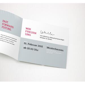 Uitnodigingsdesign voor  Start-up design gezocht