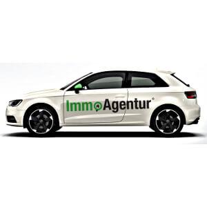 Auto opdruk voor Immo Agentur
