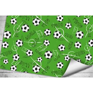 Geschenkpapier voetbal