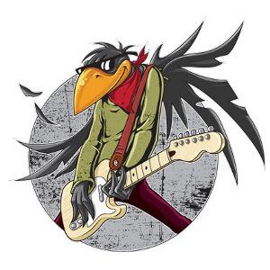 Illustratie voor rockband Fat Birds gezocht