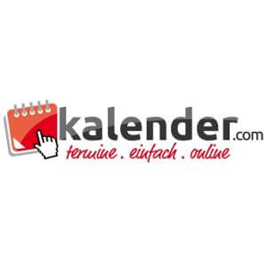 Logo voor onlinekalender 'kalender.com'