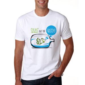 T-Shirt voor BottleCrop – 'salade uit een fles'