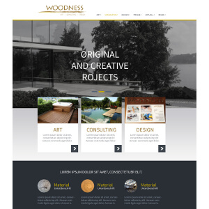 Woodness website
