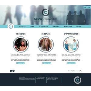 Eenvoudige website voor wervingskantoor