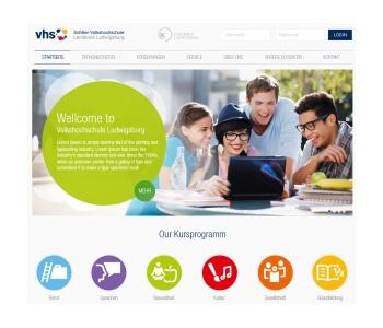 Schiller-Volkshochschule Kreis Ludwigsburg zoekt nieuw webdesign