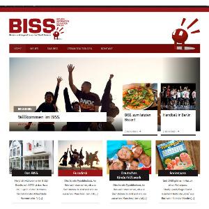 Wordpress-Design voor nieuw kinder- en jeugdforum van de stad Husum