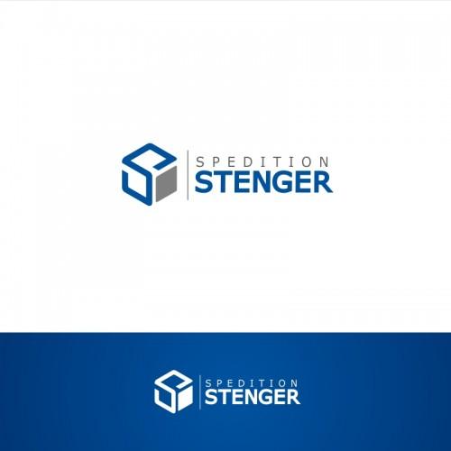 Logo voor internationaal vervoer en transport bedrijven